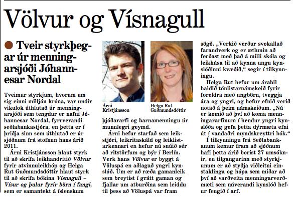 Morgunblaðið 17. maí 2014